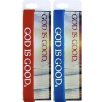 God is Good - Silicone Bracelet Assorted Colors