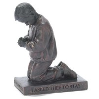 Praying Boy - Sculpture - 11 cm