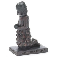 Praying Girl - Sculpture - 15 cm