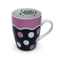 Ceramic Curvy Mug - Ephesians 5:2 - 350 ml
