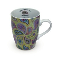 Ceramic Curvy Mug - Number 6:24 - 350 ml