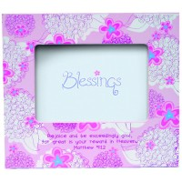 Rejoice and be exceedingly glad - wood : Photo  frame, 759830186681