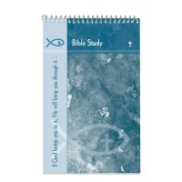 Bible Study Spiral Note Pad