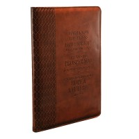 For I know the plans I have for you : LuxLeather  Folder, 6006937117204