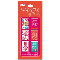 With God all things are possible :   Magnetic pagemarkers - Set of 6, 6006937113473