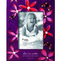 Love one another - Wooden Photo Frame