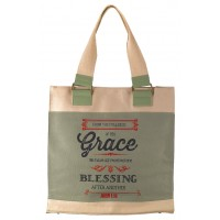 Grace - Retro green :   Tote bag - 34 x 11 x 36 cm, 6006937116528