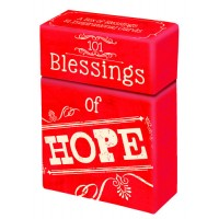 101 blessings of Hope :   Boxes of blessings - 50 cards, 6006937115811