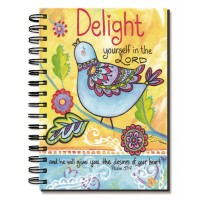 Delight yourself in the Lord - 96 pages : Journal - Wirebound, 759830221931