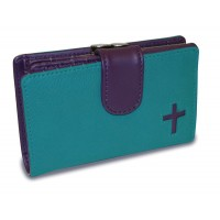 Wallet with cross - with kisslock Coin P :   , 759830216333