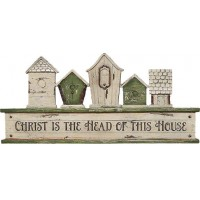 Christ is the head of this house - Resin :   , 603799524452