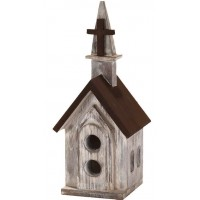 Church/Cross - Resin Birdhouse - 26 cm h :   , 603799524346