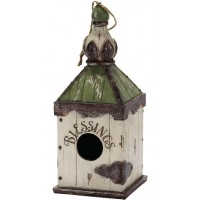 Blessings - 24 cm : Resin  Birdhouse, 603799524438