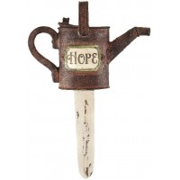 Hope - Sprinkling can - Resin garden flo :   , 603799524407