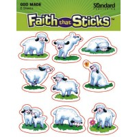 God made sheep :   Stickers - Set of 6 sheets, 9781414393681