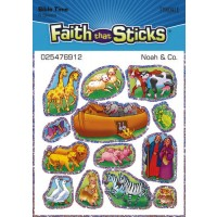 Noahs Ark - Stickers - Set Of 6 Pages