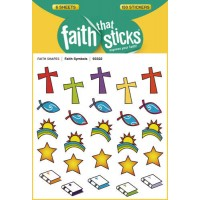 Faith Symbols - Stickers - Set Of 6 Page