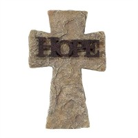 Hope - Wall Cross - 22,9 cm