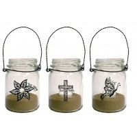 Way Truth Life - Set of 3 :   Lanterns - Mason Jar, 759830227742
