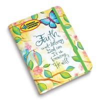 Faith is not believing God can : Address  book, 759830227957