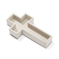 Cross shape - 16 x 30 cm : Garden  planter, 603799554312