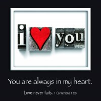 I love you - You are always in my heart :   , 6006937094826