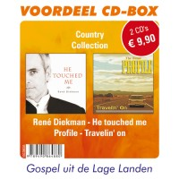 Travelin on/He touched me : Cd-box country colle, 9789490864880