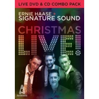 Christmas Live (CD/DVD) :   Ernie Haase & Signature Sound, 643157426905