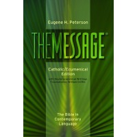 The Message Catholic Ecumenical Edition Colour - Hardcover