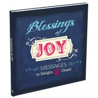 Blessings of Joy: Messages To Delight An : Joy Series/Gift book, 9781432107338