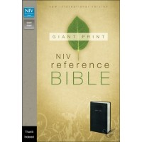 Giant Print Bible - Ind. - Black (LL)