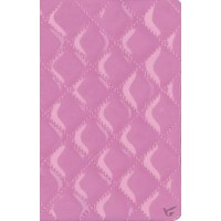 NIV Compact Bible (Strawberry Cream Quilted Duo-Tone) Bonded - Red