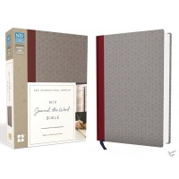 Journal the Word Bible - Red/Gray