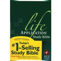 Life Application Study Bible Green - Hardback