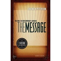 The Message Bible Colour - Hardback