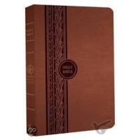 Thinline Reference Bible Brown - Imit. Leather