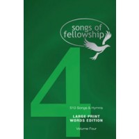 Songs of fellowship 4 words large p
