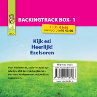 Pakket BACKINGTRACK 1  (3 cd's) :   Oke4kids, 9789058111586