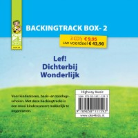 Pakket BACKINGTRACK 2  (3 cd's) :   Oke4kids, 9789058111593
