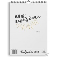 Maandkalender beautiful day 2019