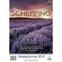 Weekplanner Schepping 2019