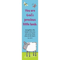 You are God's precious little lamb (10 Bookmarks) - 148x40mm