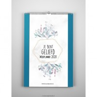 Weekplanner 2020 Je bent geliefd Hour of Power
