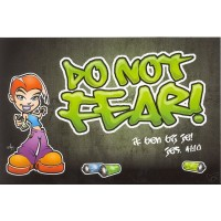 Kaart grafity do not fear