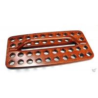 Avondmaal cup tray 40 cups hout 39.3x19c