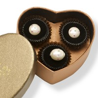 Paarlemoer 'Chocolade' Set - Wit  :   , DFL1302