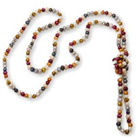 Extra Lang Collier - Multicolor :   , DFL1018
