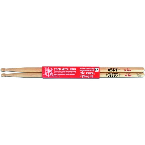 Stick With Jesus - Hickory Natural - Vic Firth 5A Drumsticks Schlagzeug St
