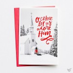 O come let us adore Him - 18 cards