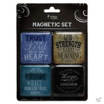 Trust, Strength, Hope, Perseverance - Magnetic set